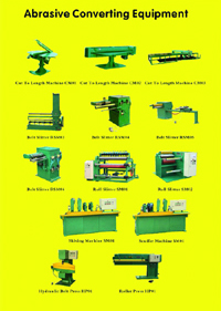 Sunway Coated Abrasive Converting Machinery